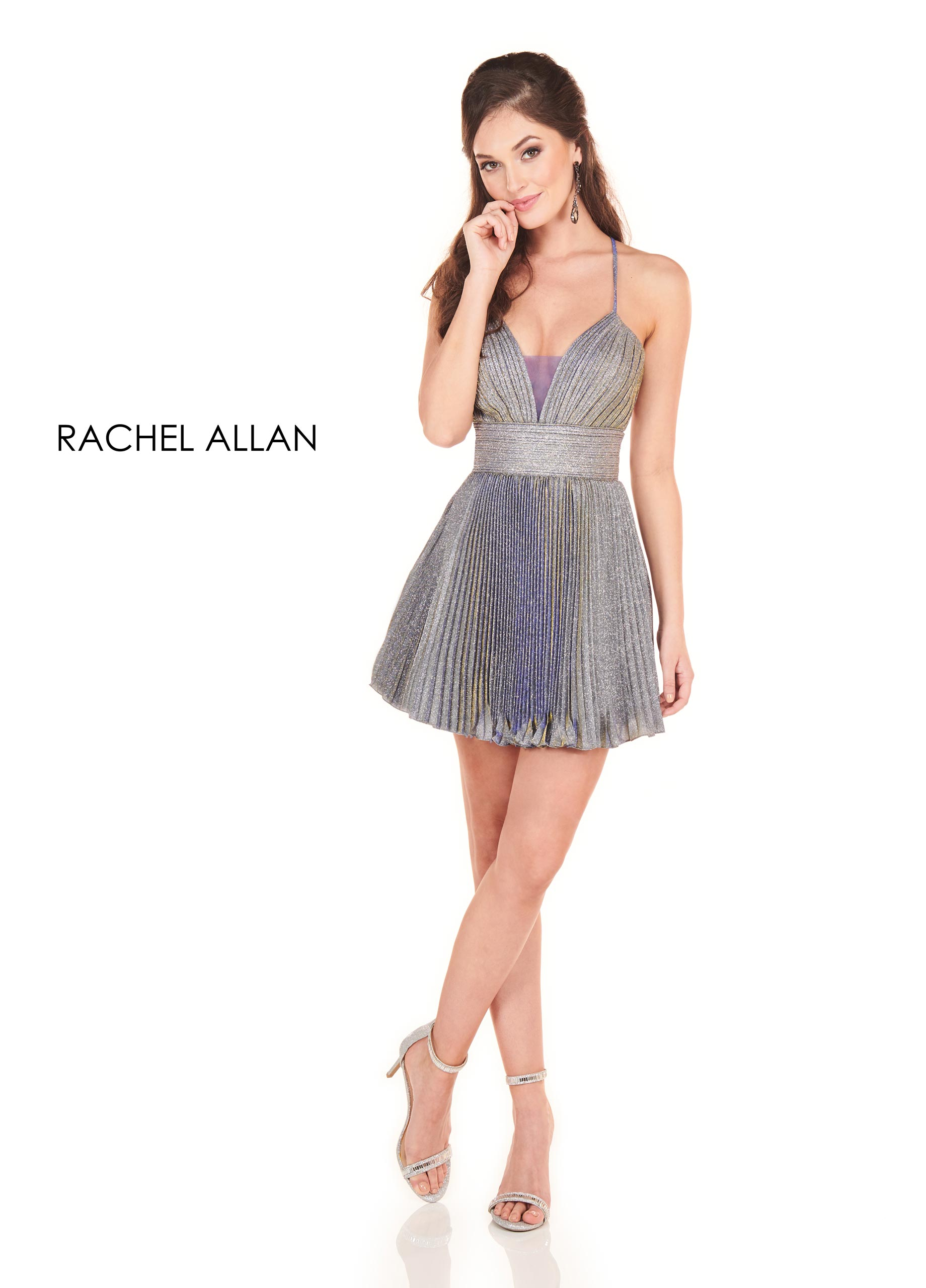 Sweetheart A-Line Homecoming Dresses in Gunmetal Color
