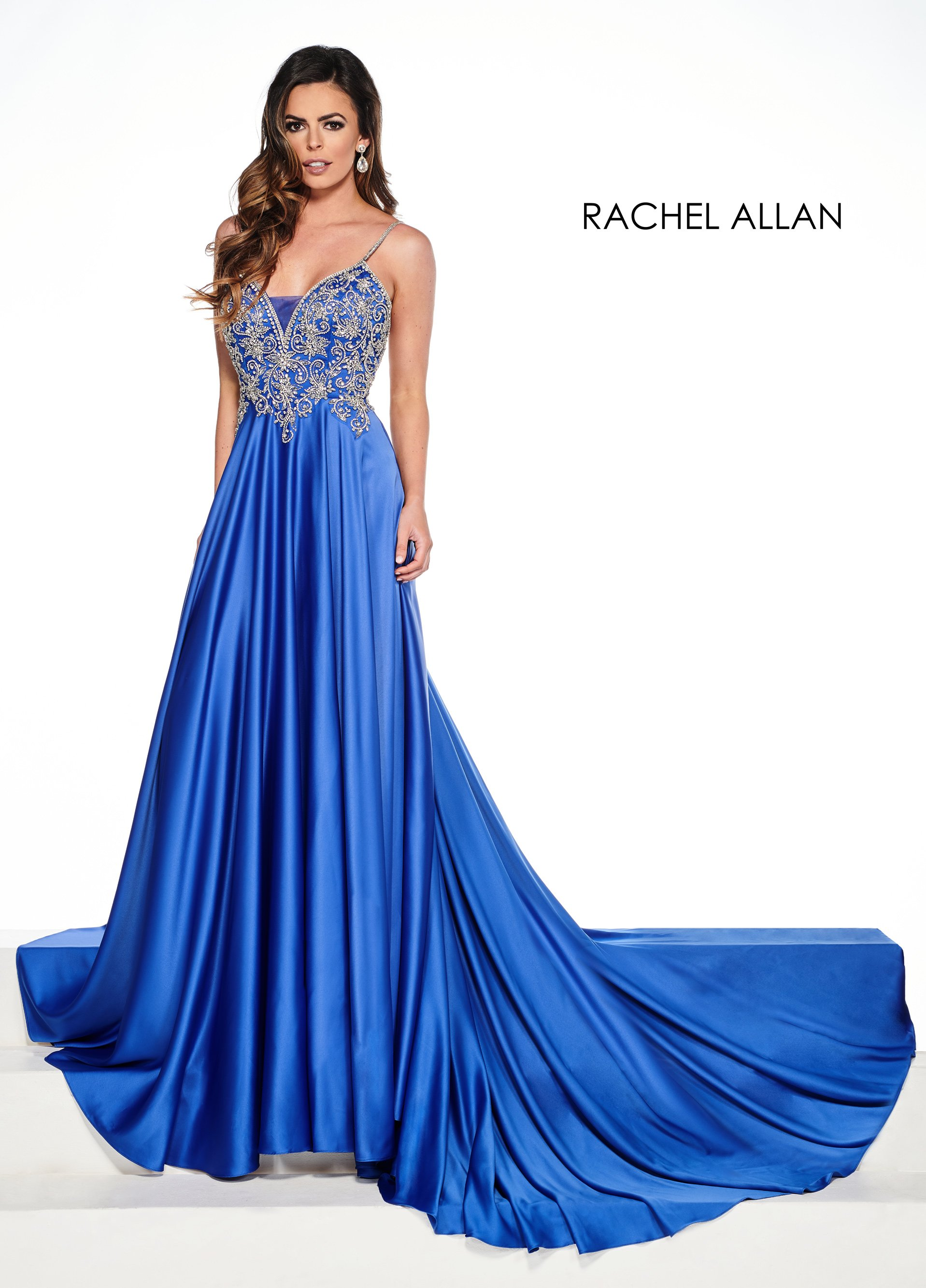 Sweetheart A-Line Pageant Dresses in Royal Color