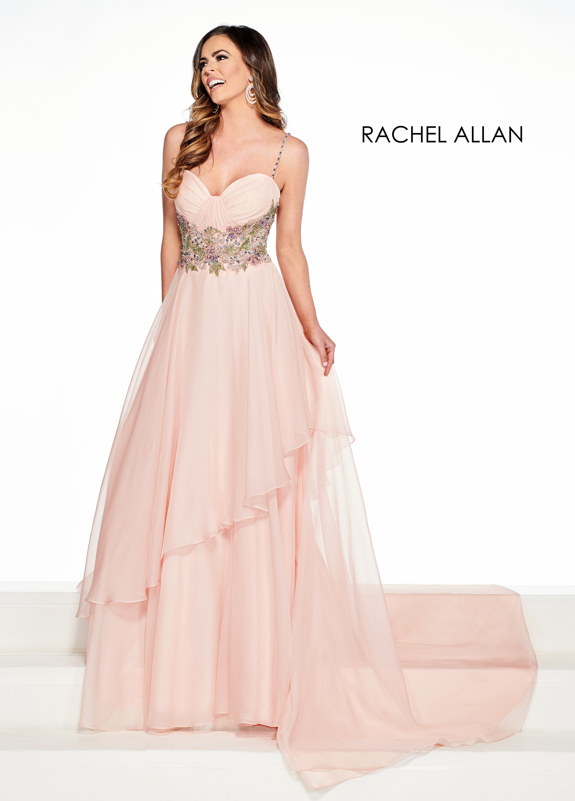 Sweetheart A-Line Pageant Dresses in Blush Color