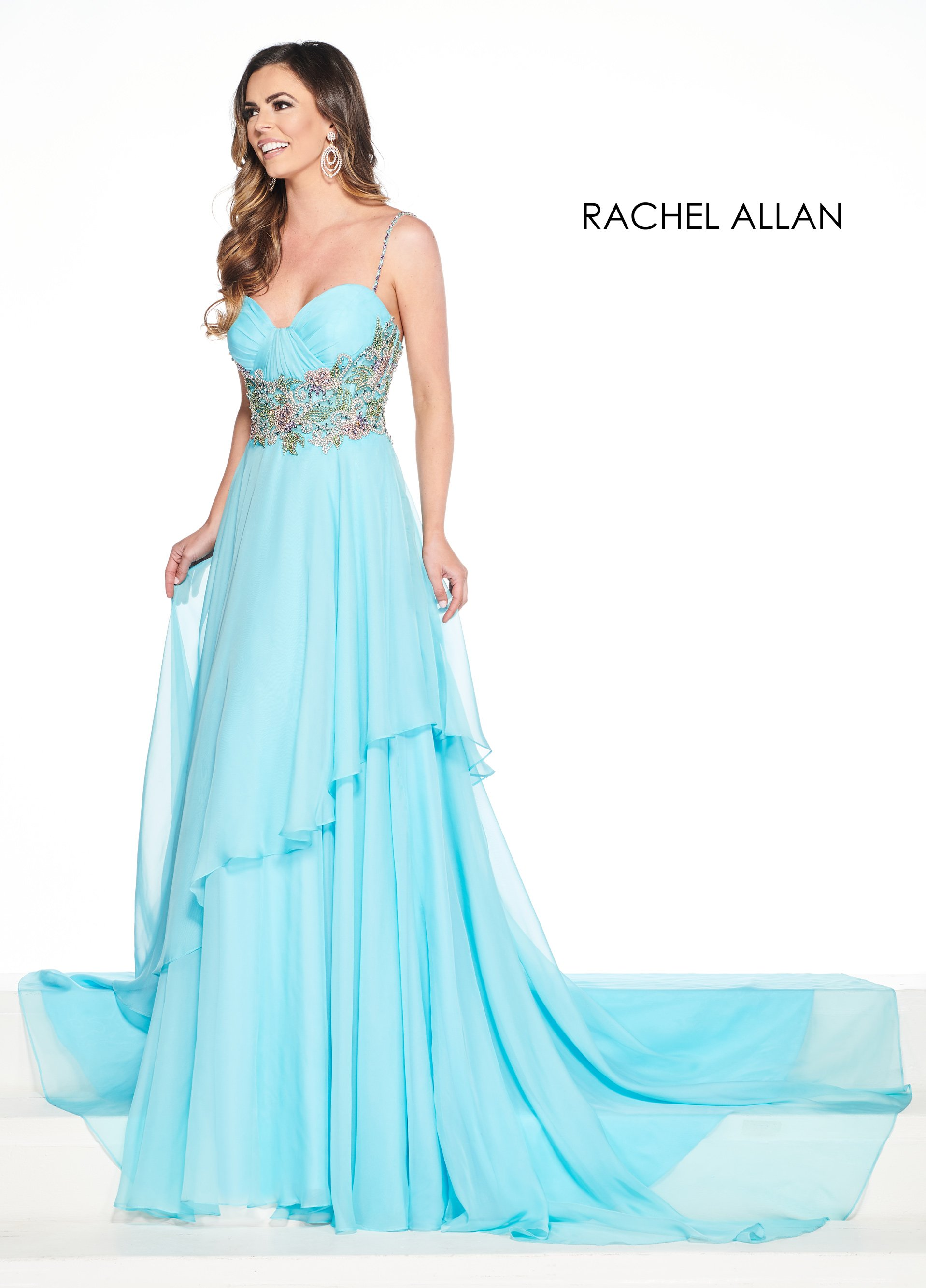 Sweetheart A-Line Pageant Dresses in Blue Color