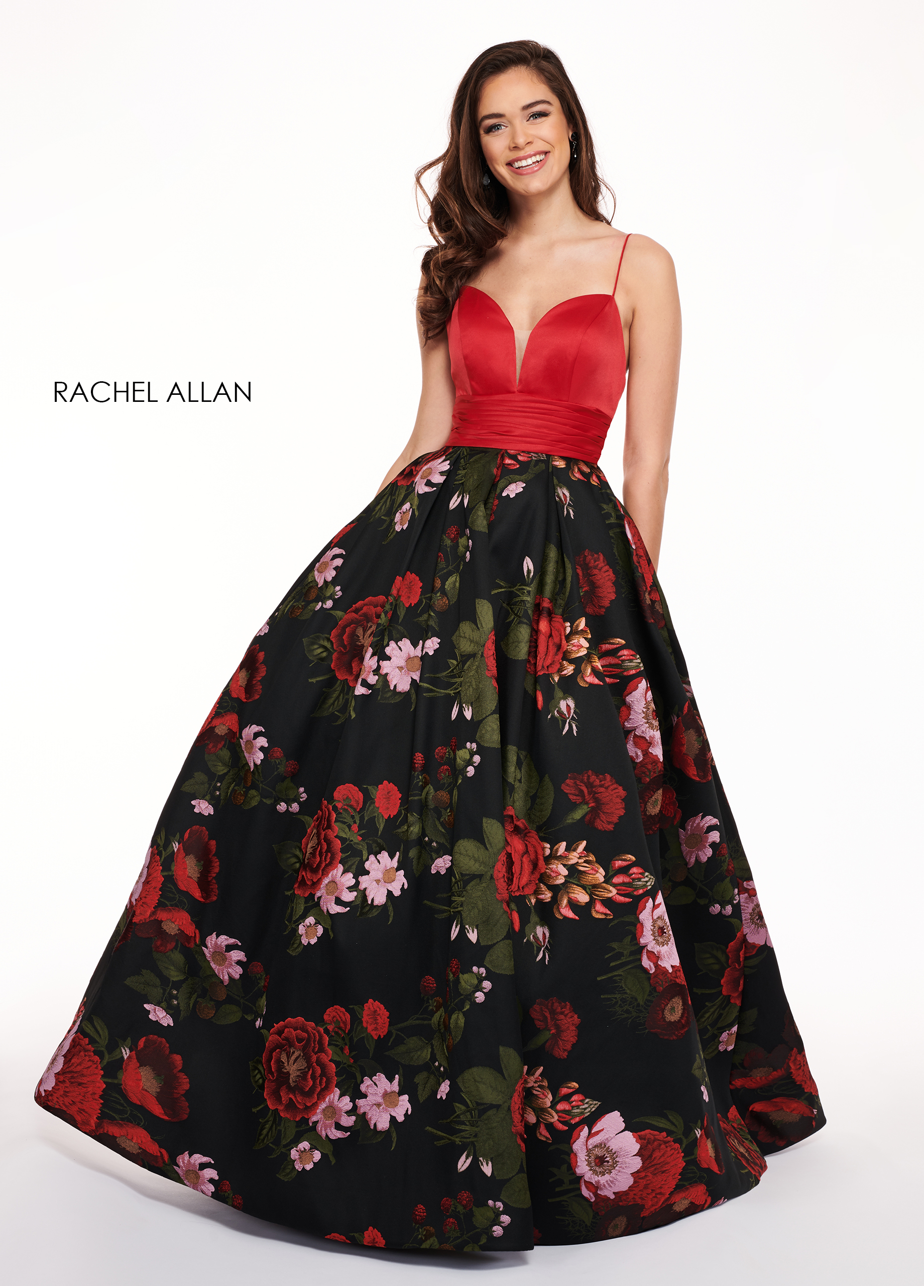 Sweetheart Ball Gowns Prom Dresses in Black Color