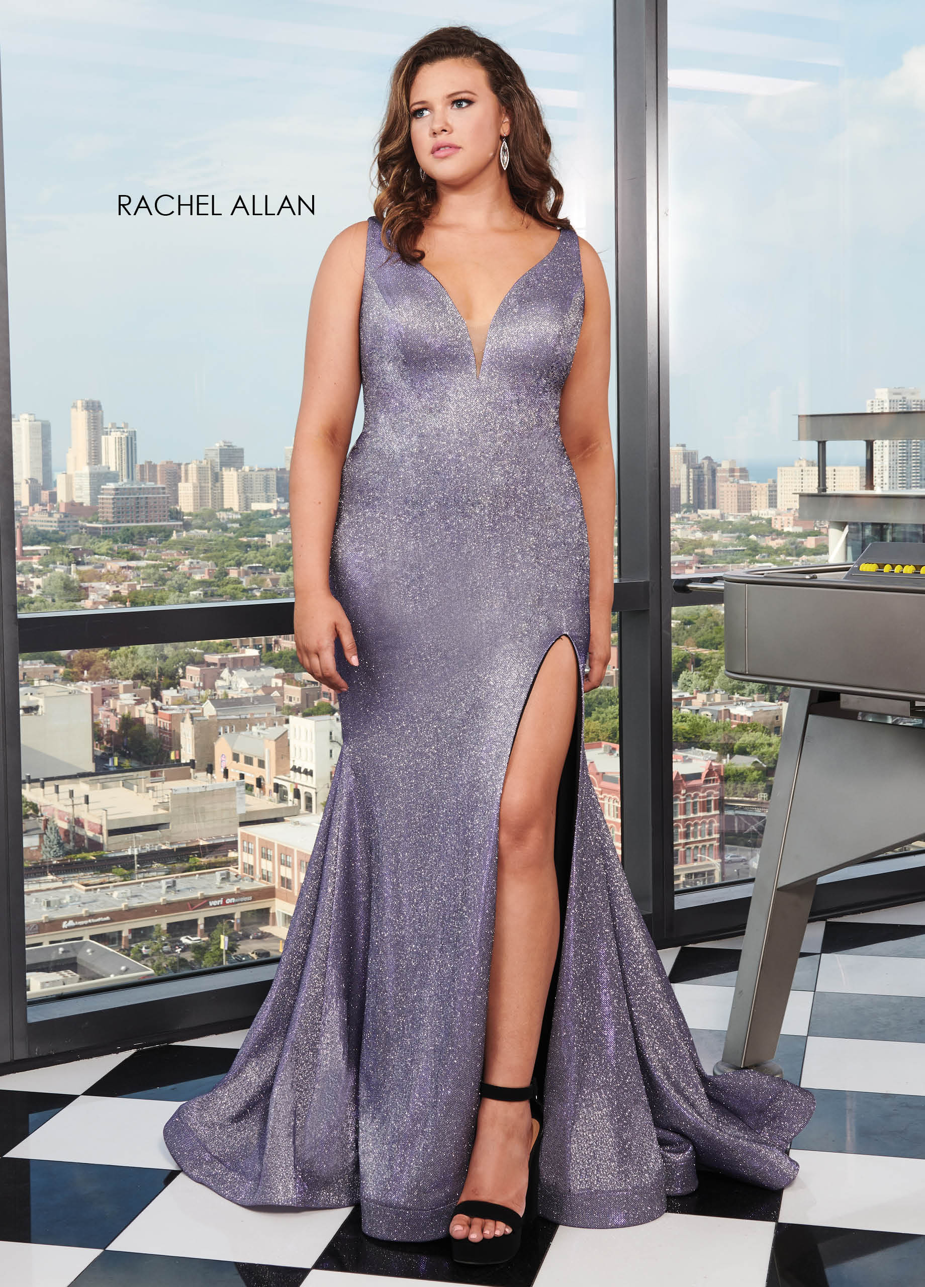 Strapless Fitted Long Curves Dresses in Color | Style - 70011W