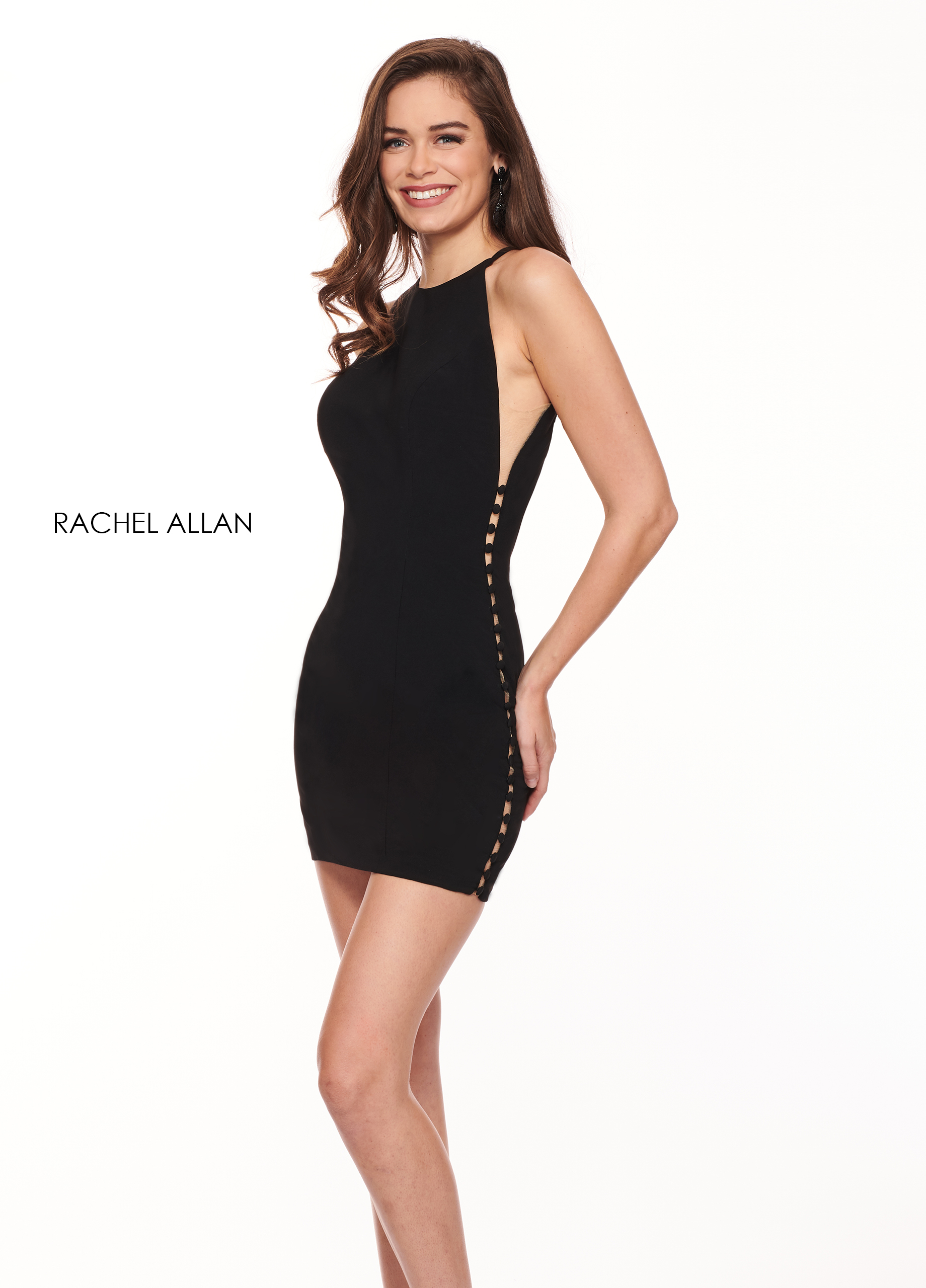 Halter Fitted Mini BEST SELLERS in Black Color