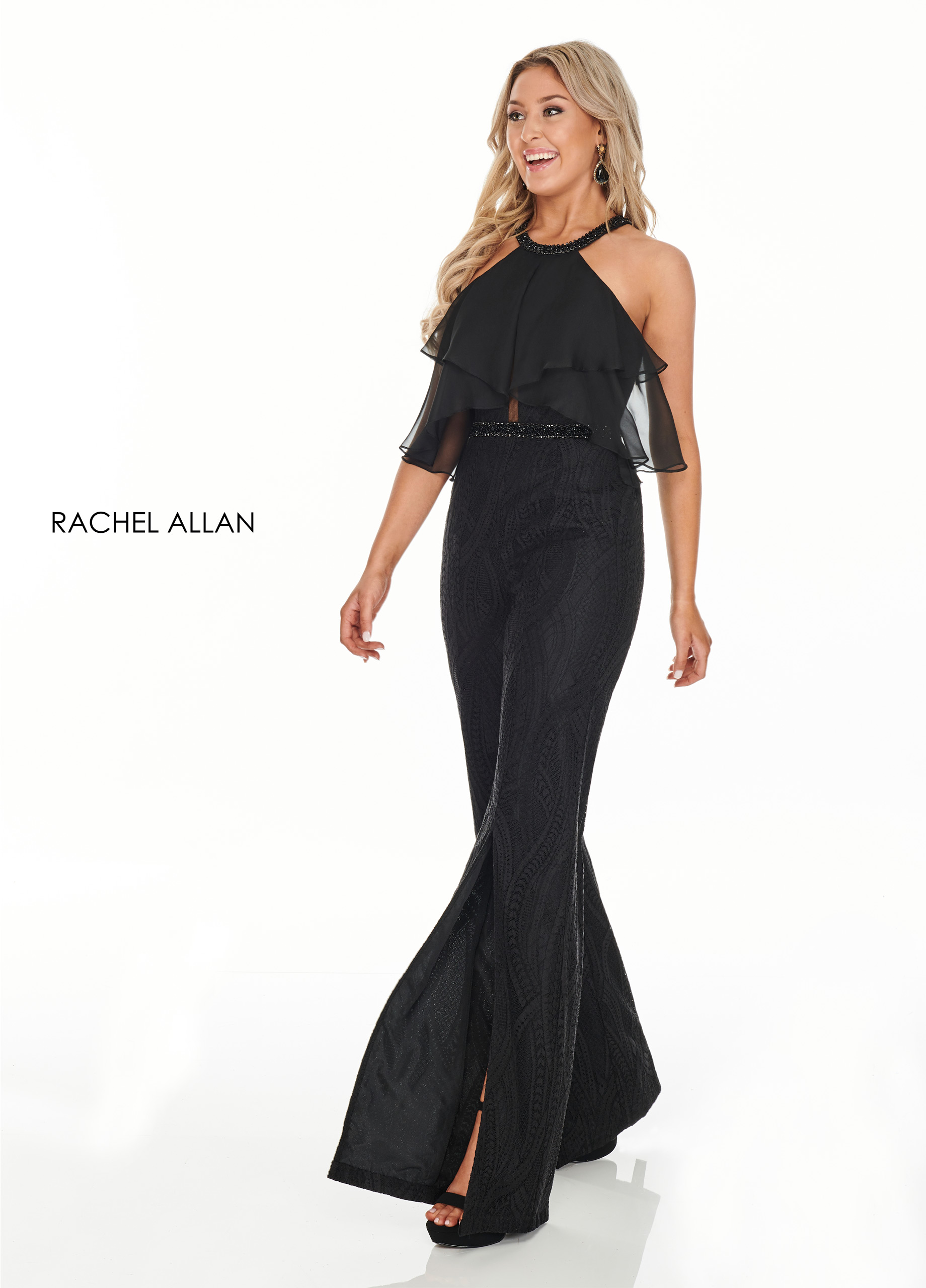 Beaded Jumpsuit BEST SELLERS in Black Color
