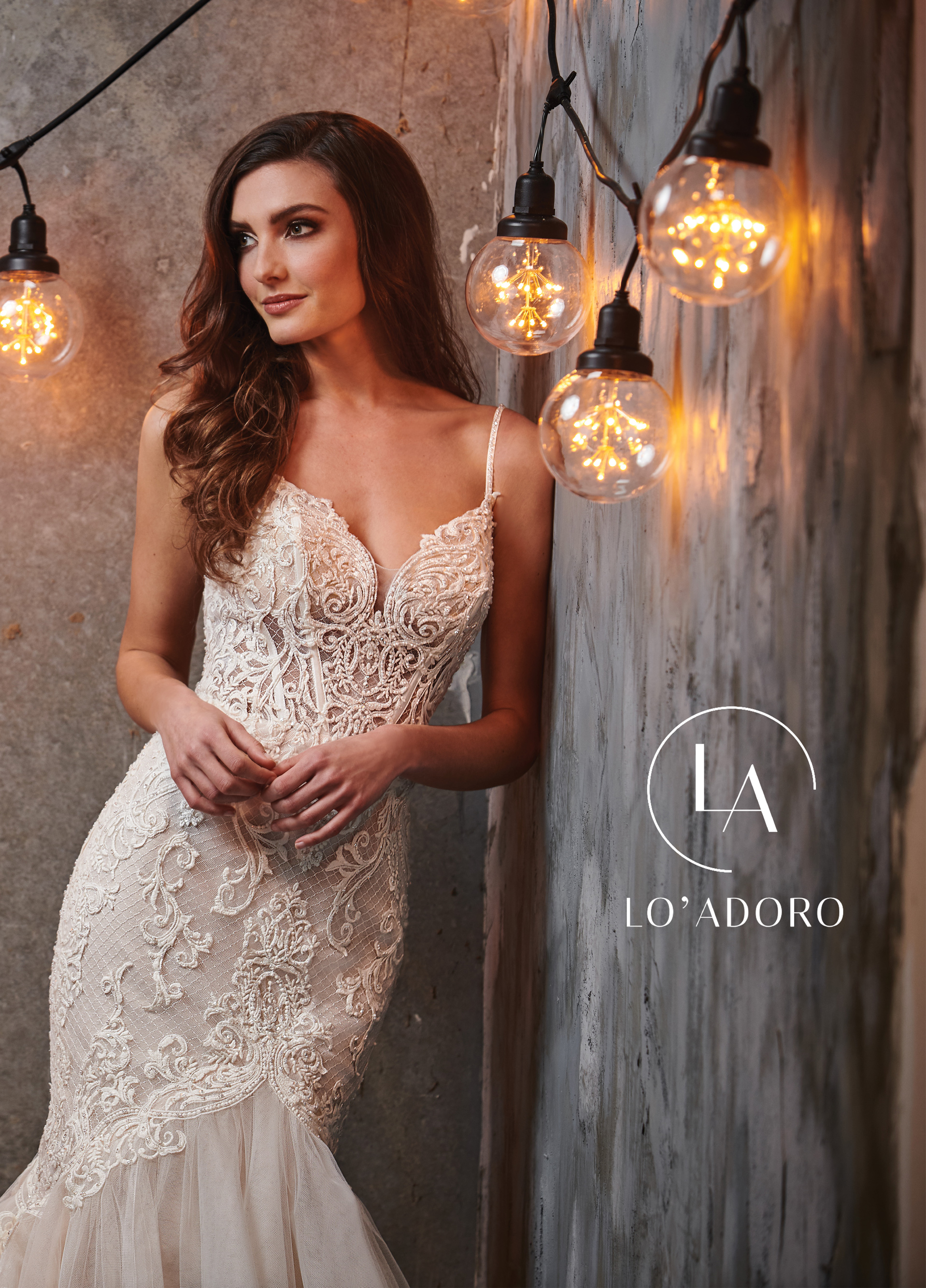 Sweetheart Mermaid Lo' Adoro Bridal in Nude Color