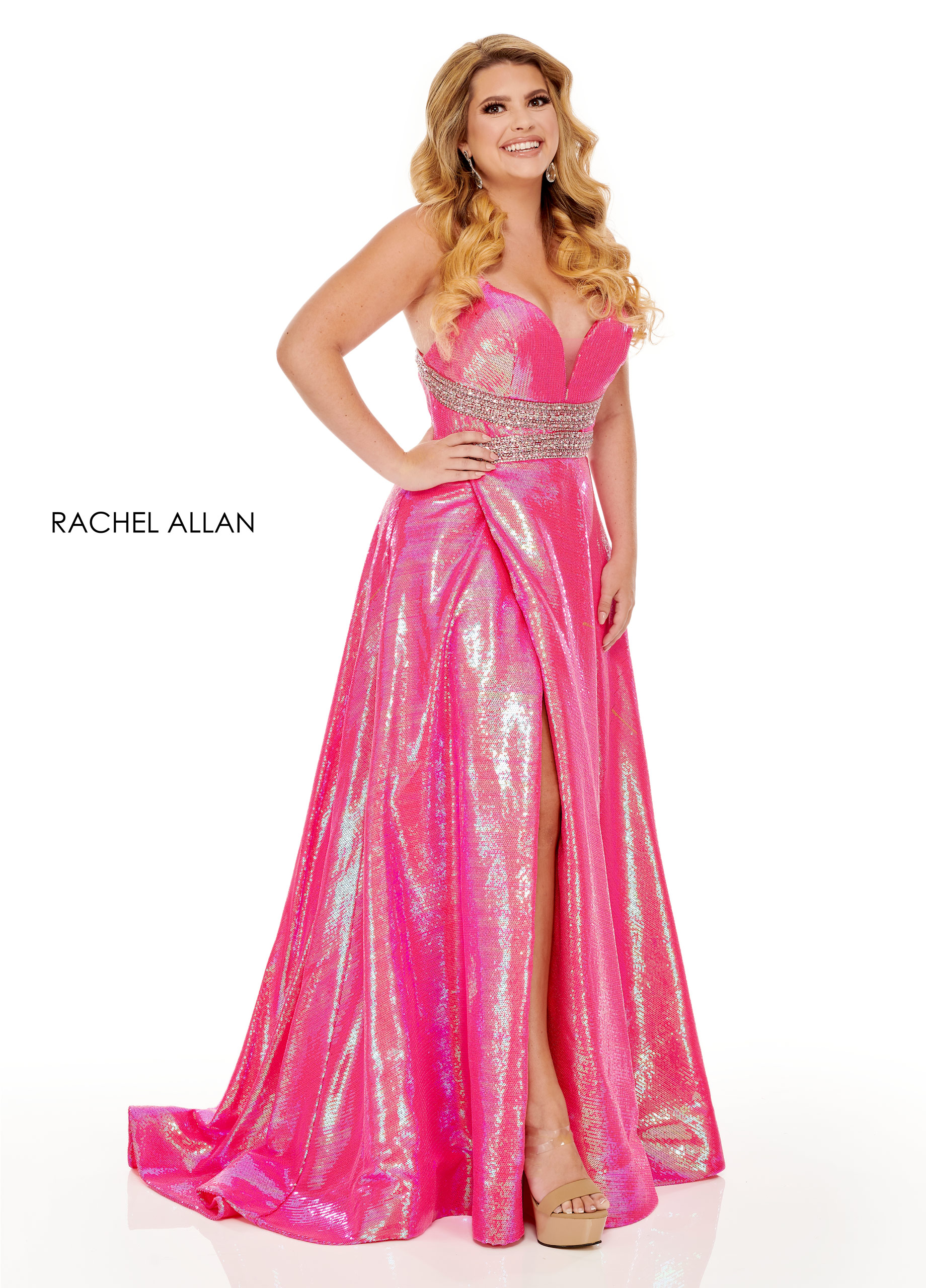 Sweetheart A-Line BEST SELLERS in Pink Color