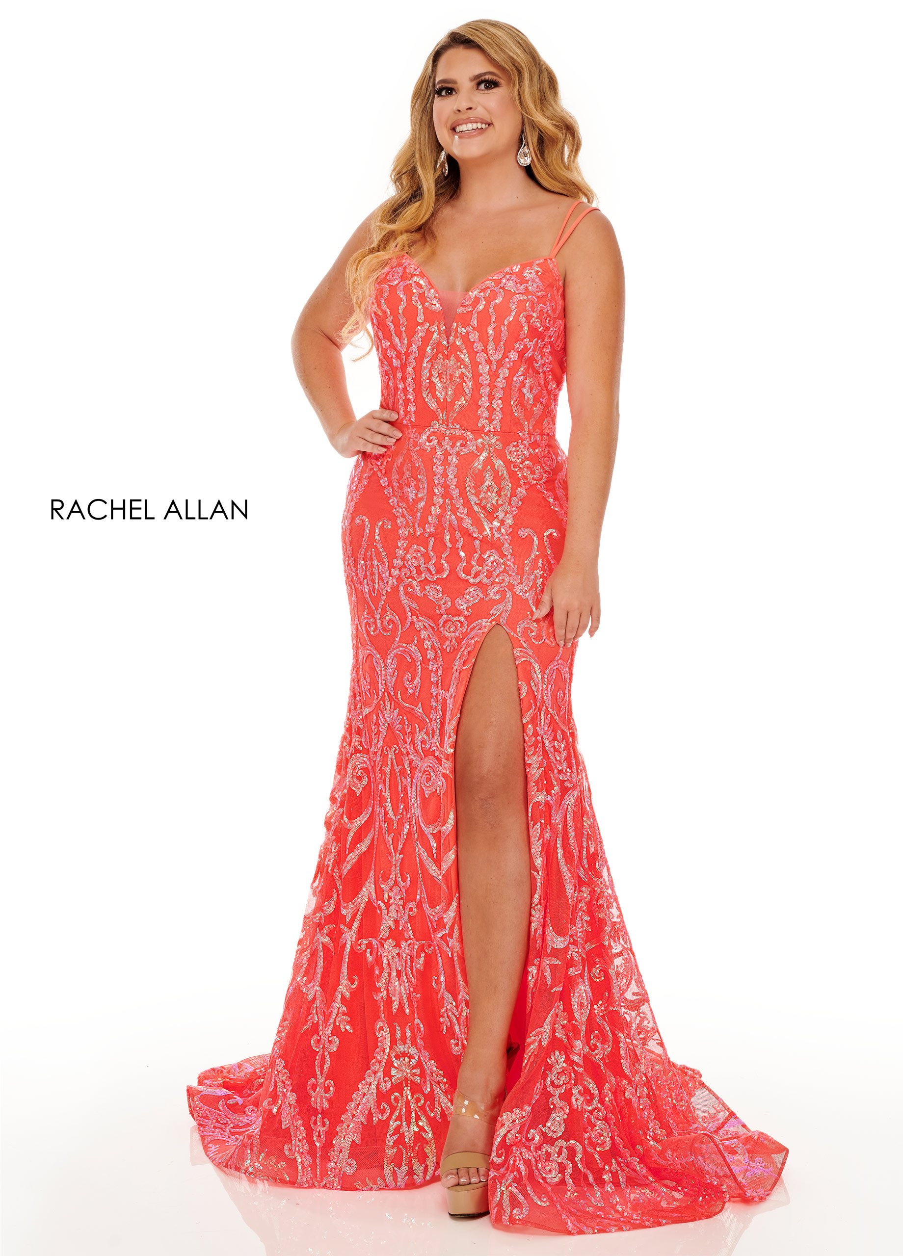 Off The Shoulder Two-Piece Prom Dresses in Color | Style