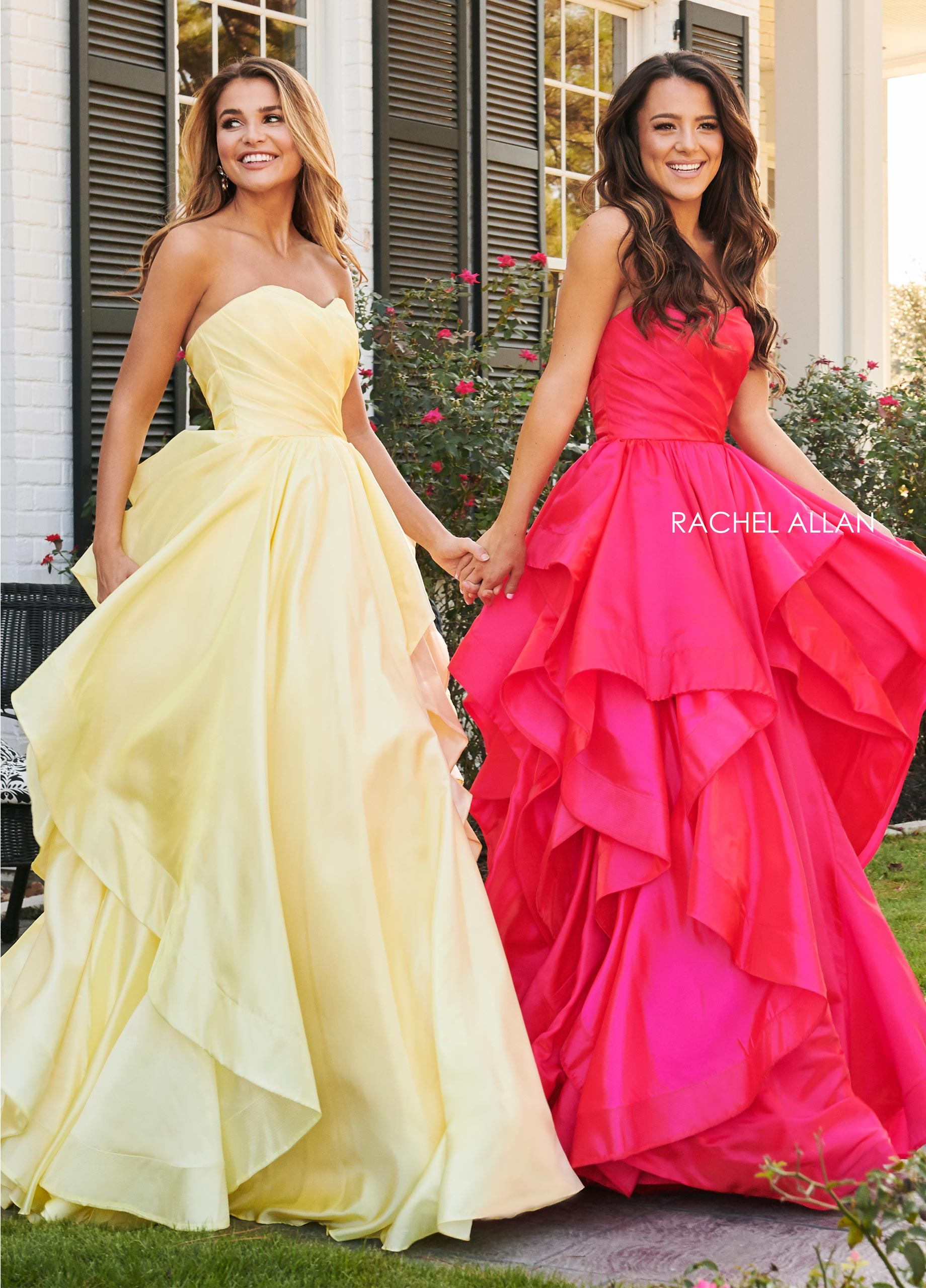 Sweetheart Ball Gowns Prom Dresses in Magenta Color